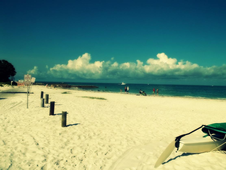 …ou la tranquillité des plages de Sarasota ?
