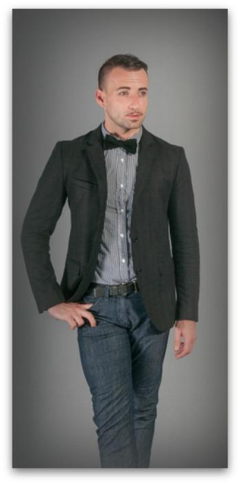 Couleurs Élégantes Homme Costume Un Pour Les FJTK1ulc53
