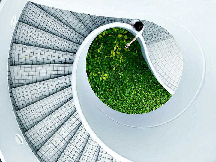 L'escalier, un élément qui peut s'avérer très décoratif