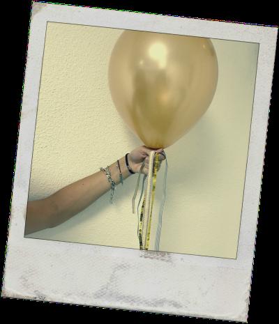 ruban ballon